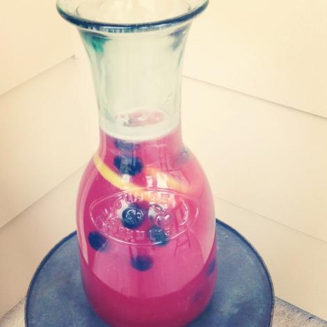 Blueberry Lemonade #recipe #summer #refreshing