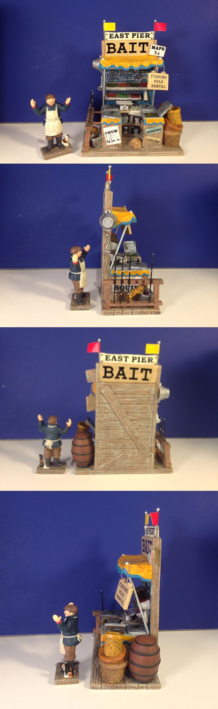 Christmas Collectible Department 56: Dept 56 Cic Village Pier 87 Bait And Tackle W Box New! Christmas In The City -> BUY IT NOW ONLY: $42.99 on eBay!
