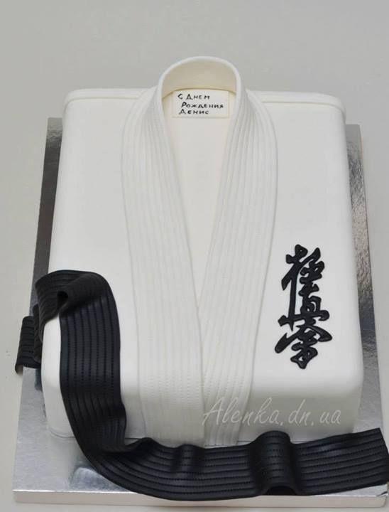 Kyokushin karate cake