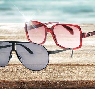 Carrera, Armani & More Sunglasses