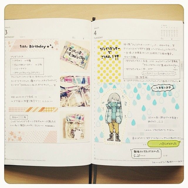 daily pages:: rain | #layout #Journal