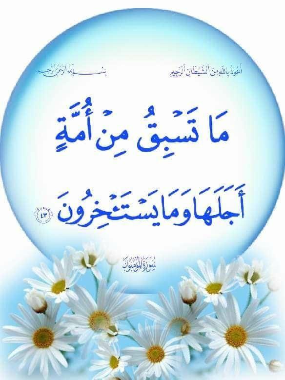 Al Mu Minun 43 Quran Verses Quran Islam