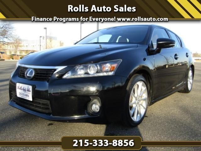 Used 2013 Lexus CT 200h Base for sale at Rolls Auto Sales in Philadelphia, PA for $18,548. View now on Cars.com.