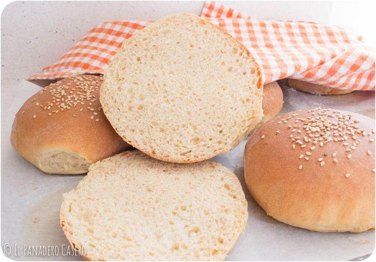 Pan de hamburguesa | El panadero Casero
