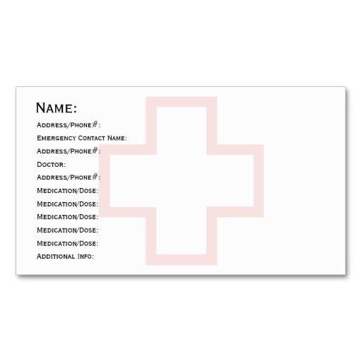 med cards template - 240 best medical health business cards images on pinterest