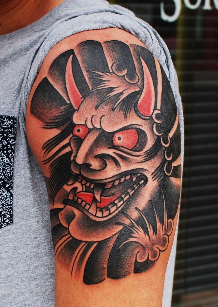 Traditional Hanya Mask Tattoo: 489 Best Images About Hammersmith Tattoo On Pinterest