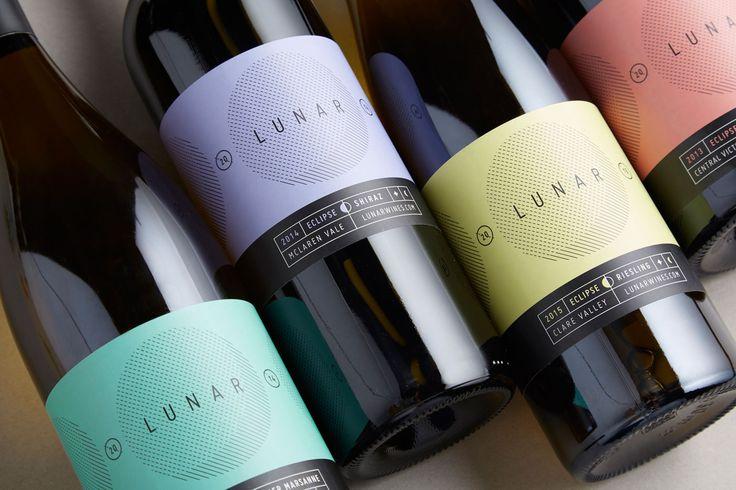 Lunar Wines 2016 on Behance