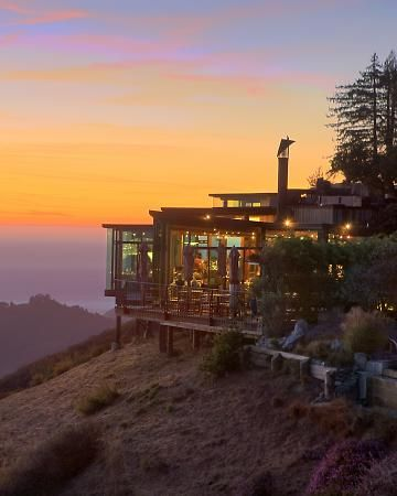 This is in Big Sur...you rent these awesome cabins.. defiantly going someday with Daniel!
