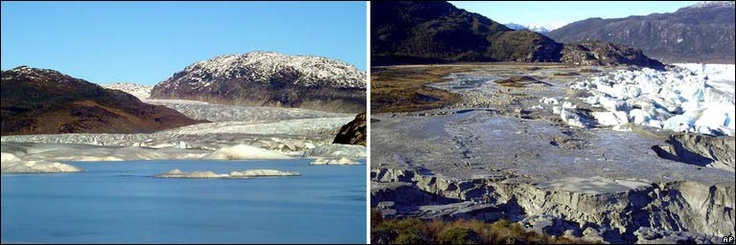 """A glacial lake in Chile's southern Andes has disappeared, and scientists want to know why. The disappearance of the five-acre lake in Bernardo O'Higgins National Park was discovered in May 2007 by park rangers. Where the lake had been in March, they found a dry crater as well as several large pieces of ice that used to float atop the water. """"The lake had simply disappeared,"""" said Juan Jose Romero, regional head of Chile's national forest service, or Conaf. """"No one knows what happened."""""""
