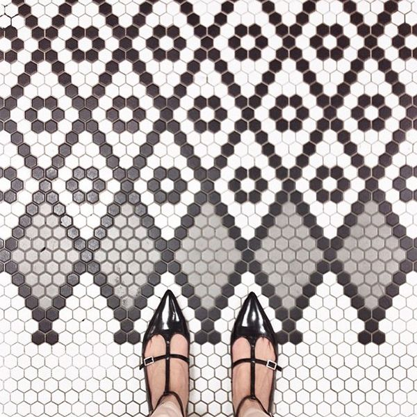 """""""What I find most incredible about [Instagram] is that I'm able to communicate and share with my fans so quickly and directly,"""" Witherspoon says. """"I also get so inspired by other creative feeds like @Ihavethisthingwithfloors. I don't know who thought of that, but I have this thing with floors, too, and I very much appreciate that it exists!"""""""