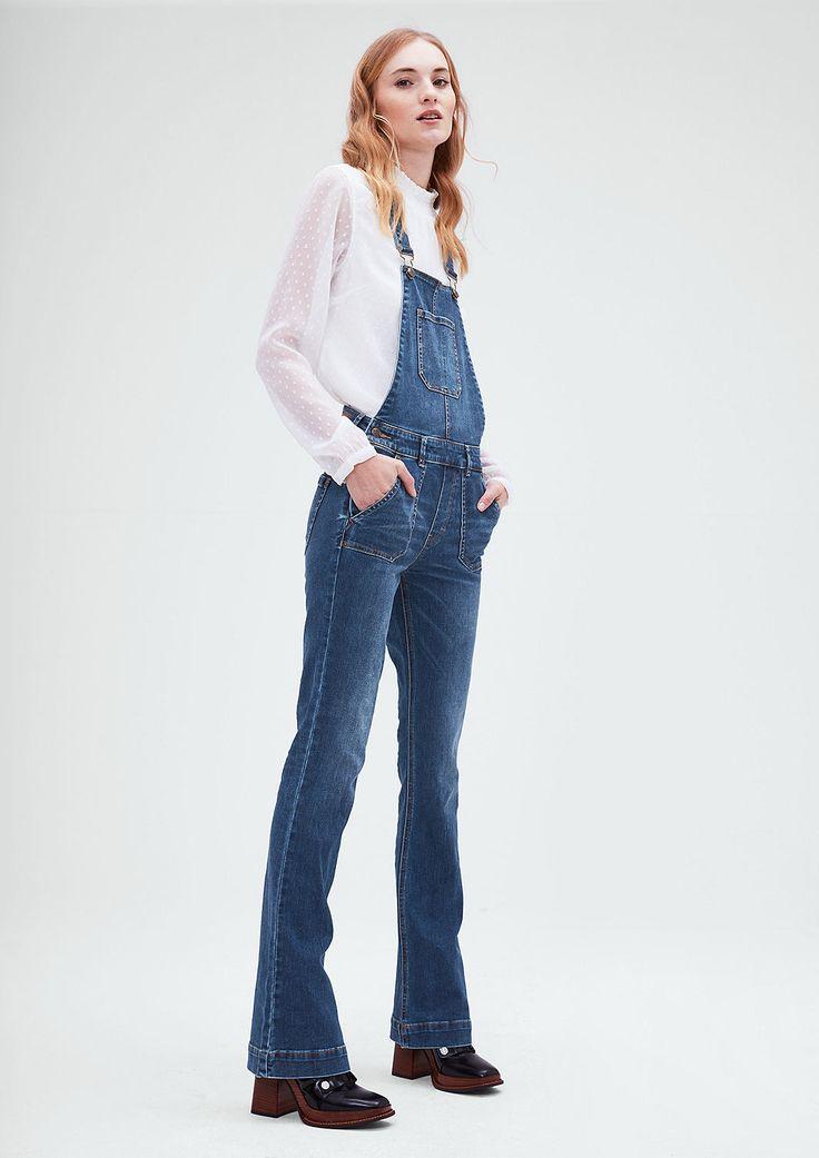 Latzhose mit Schlag von s.Oliver. Entdecken Sie jetzt topaktuelle Mode für Damen, Herren und Kinder und bestellen Sie online.