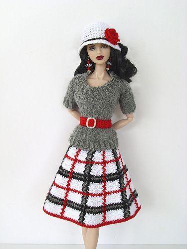 Вязание для кукол – 191 photos   VK   Одежда для барби ...