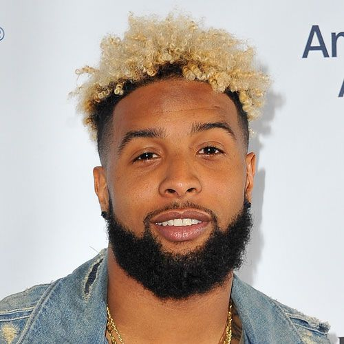 Odell Beckham Jr Curly Hair