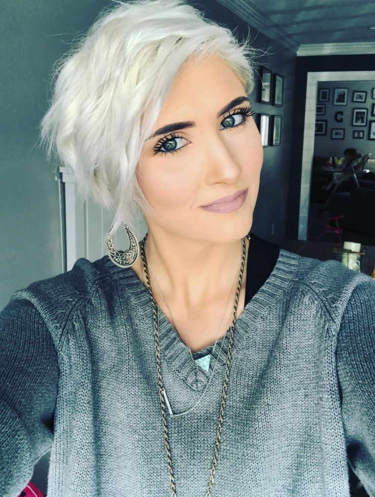 hair styles for grey hair 17 best ideas about platinum pixie on platinum 5058 | bb6214faa445670da5058bd1bea94171