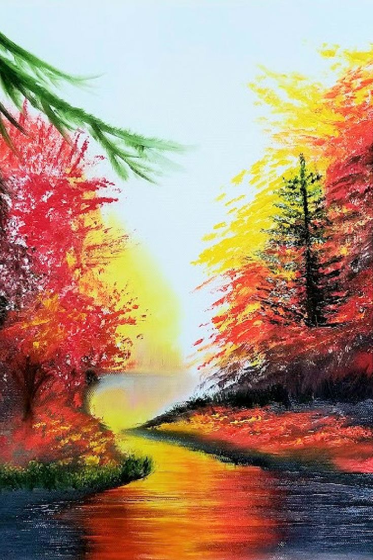 """Late Fall. Christmas Gift. New Year Gift. Wall Art. Home Decor. Gift for her. Wall Decor. Original Oil Painting on Canvas. 16"""" x 12"""". 40 x 30 cm. 2017. CAD90 Unframed. Painted Edges. Ready to Hang. AVAILABLE FOR IMMEDIATE PURCHASE.   I have created this beautiful piece by hand so you can enjoy it in your own home. Display it in your own house or office to brighten up any room. It will make a great gift, too. #homedecoration #paintings #oilpainting #artgallery #landscape #myart #artoftheday"""