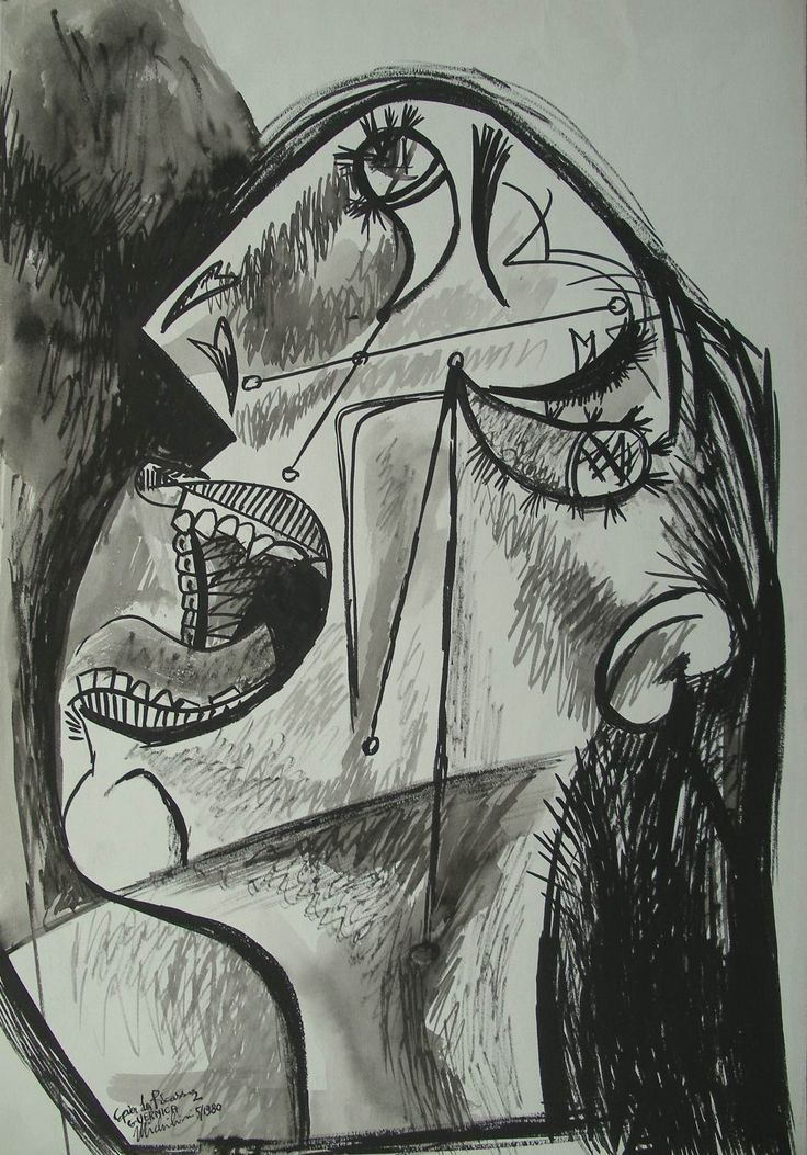 an examination of the painting guernica by pablo picasso From the beginning, pablo picasso chooses not to represent the horror of guernica in realist or romantic terms guernica is the most powerful invective against violence in modern art, but it is not wholly inspired by the war.