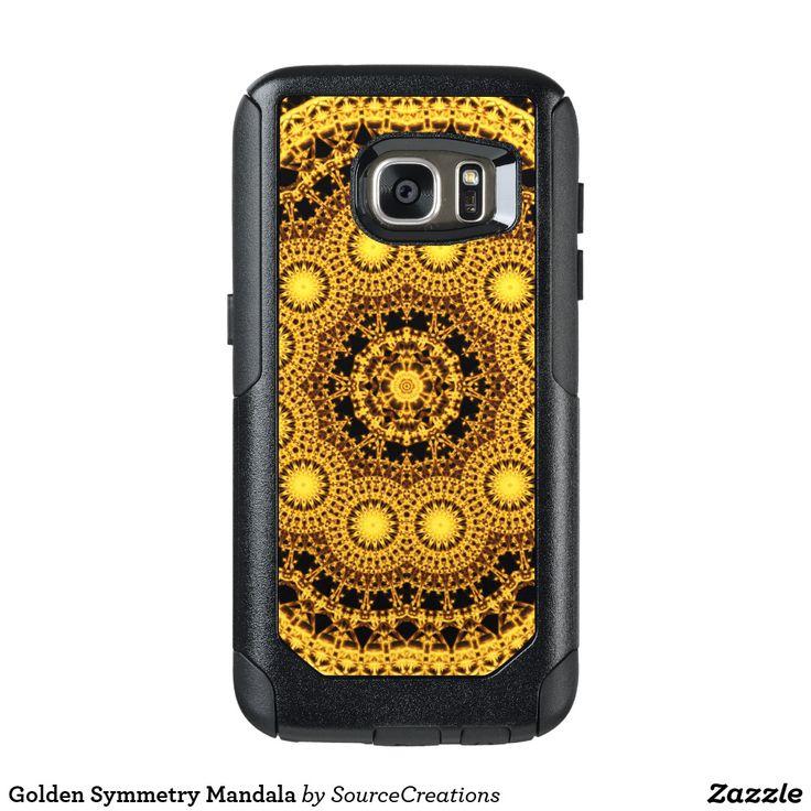 Golden Symmetry Mandala OtterBox Samsung Galaxy S7 Case