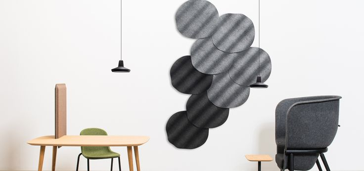 Onde Soundabsorbing Wall Panels