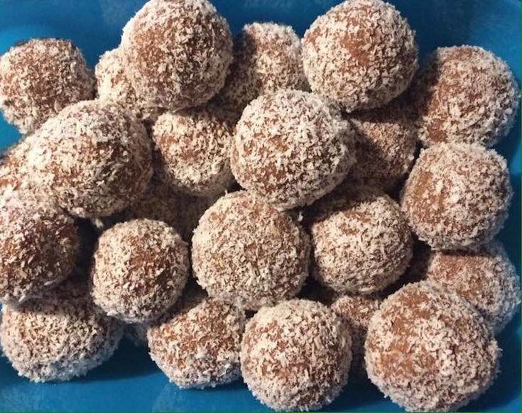 Almás kókuszgolyó, nem a megszokott alapanyagokból készül, de nagyon finom! - Bidista.com - A TippLista!