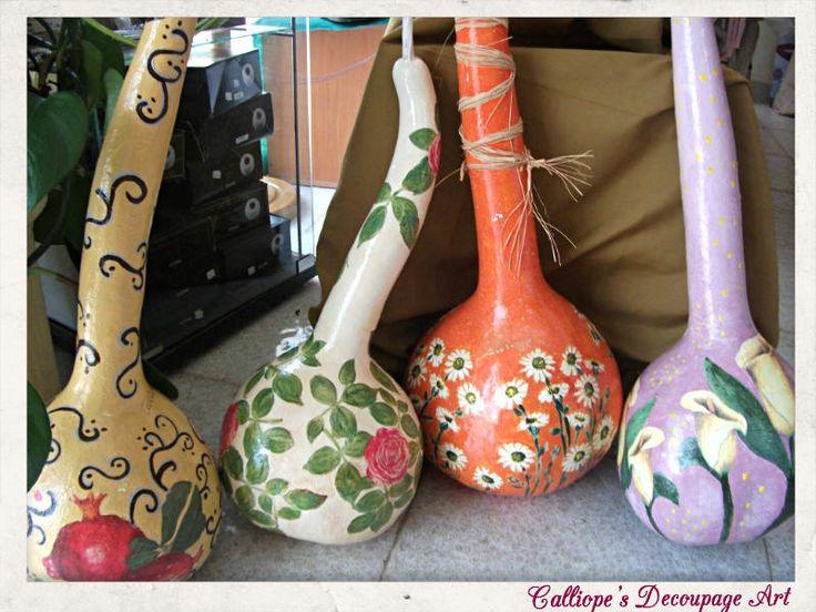 Decorative Pumpkins | Calliope's Decoupage Art