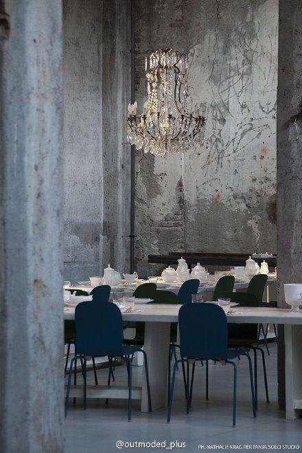Outmoded plus profolio presentation pinterest - Interior design cafe milano ...