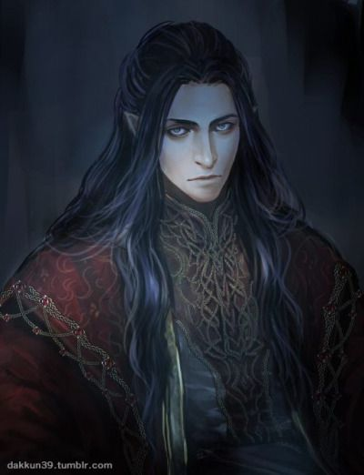 Artist impression of Feanor but looks terrible like the Lord of House de Glas