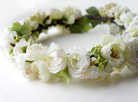 花冠 ウェディング 細い - Google 検索