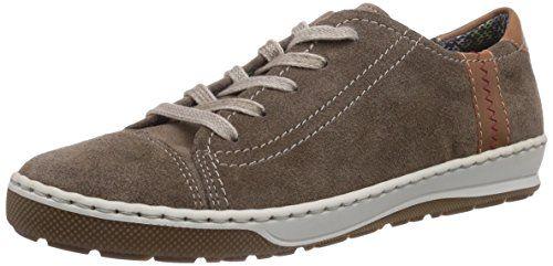 Jenny Dublin, Damen Sneakers, Beige (teak,marrone 06), EU 37 (UK 4) - http://on-line-kaufen.de/jenny/37-eu-4-uk-jenny-dublin-damen-sneakers