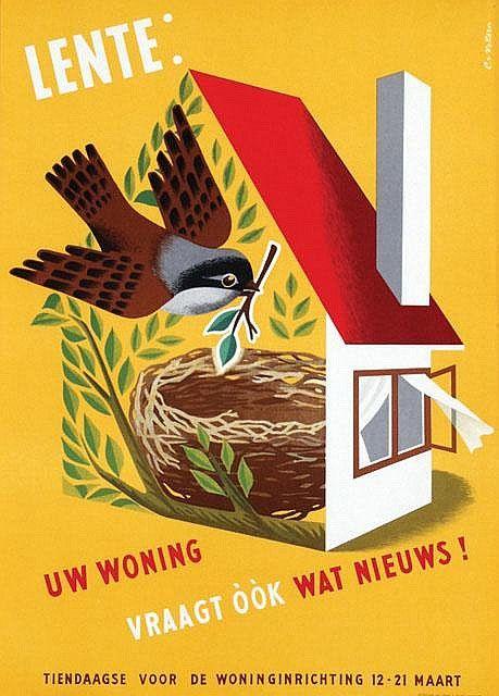 Poster design by Cornelius (Cors) van Velsen