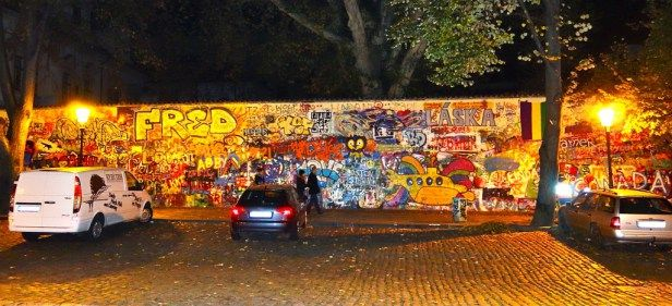 Le mur de John Lennon !
