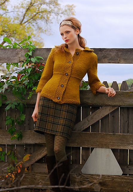 Jackie Jacket pattern by Sylvia Hager