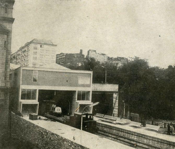 Dworzec Warszawa-Powiśle (lata 60.)