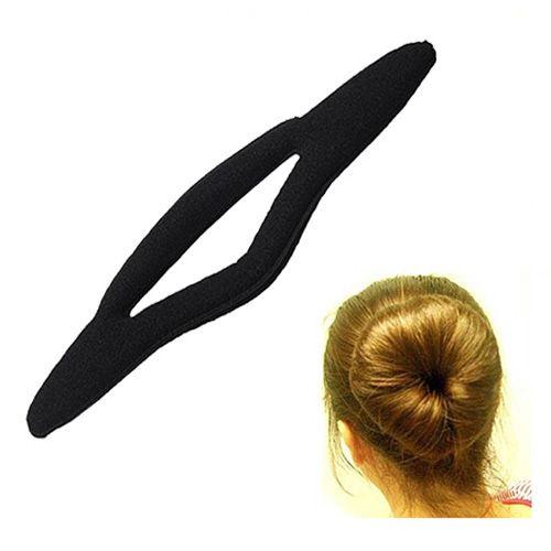 >> Click to Buy << 9.6 Magic Sponge Bun Maker Curler Hair Ponytail Holder Black #Affiliate