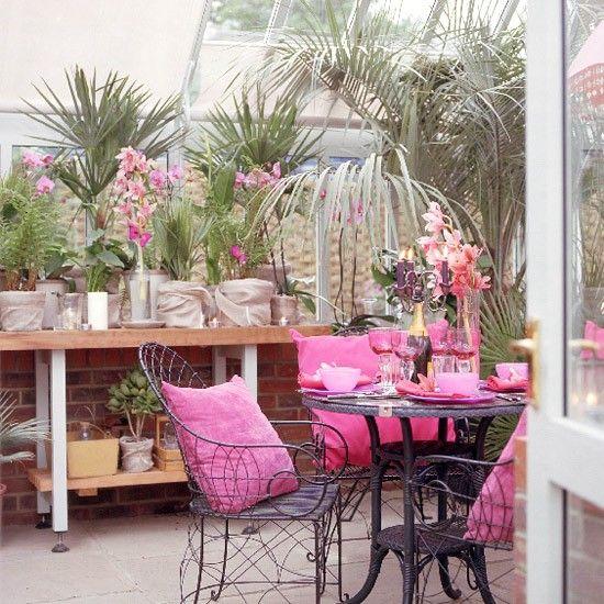 Pink conservatory