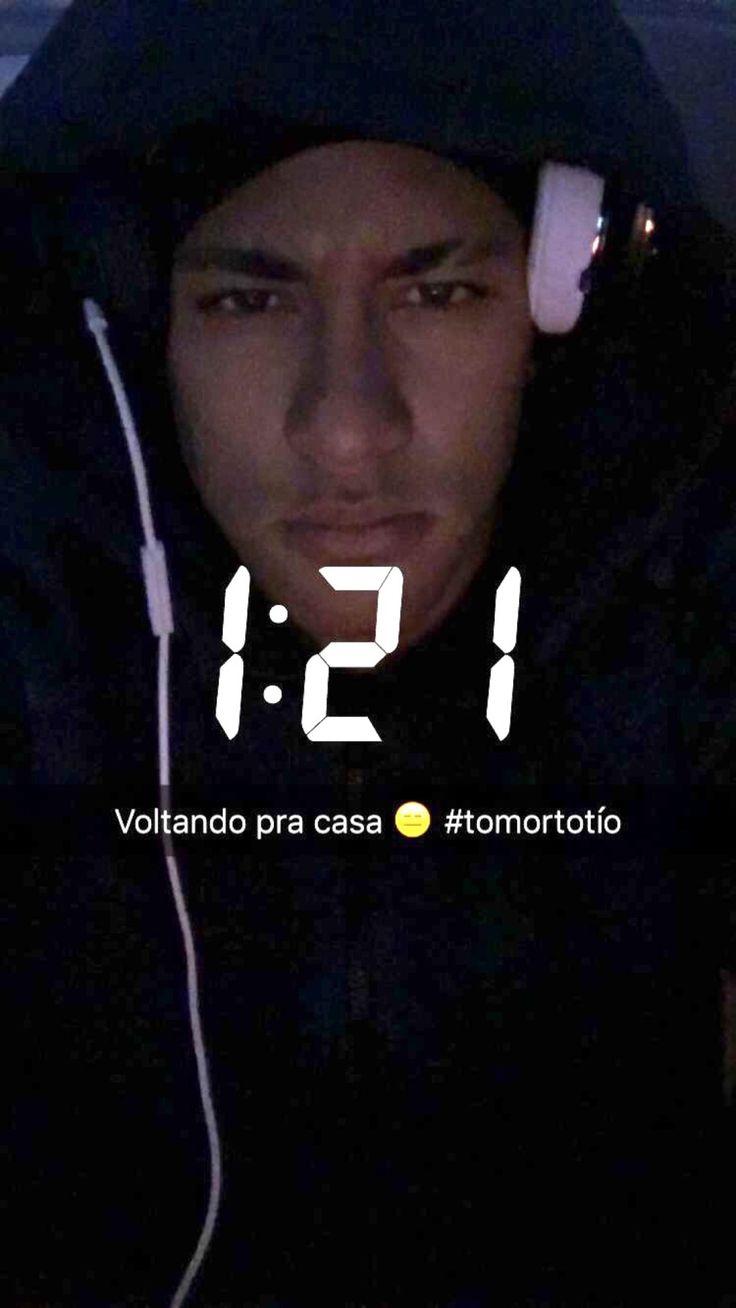 "neys-princess: "" ""Returning home"" - Neymar on snap [23/2/16] """