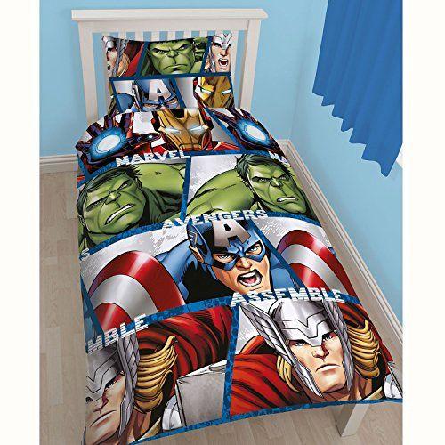 Kinder Jungen Wende-Bettwäsche-Set mit Marvel Avengers Design (Doppelbett) (Bunt) Marvel http://www.amazon.de/dp/B0125U02GO/ref=cm_sw_r_pi_dp_oPH0vb1F3HHAC