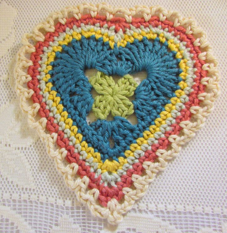 Sweet Hearts, free pattern by Crochet and other stuff.....