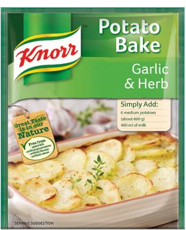 KNORR Garlic and Herb Potato Bake