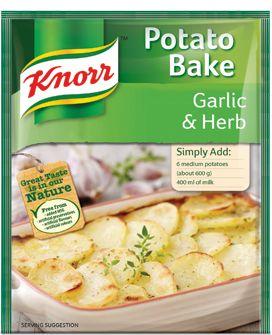 KNORR Garlic and Herb Potato Bake