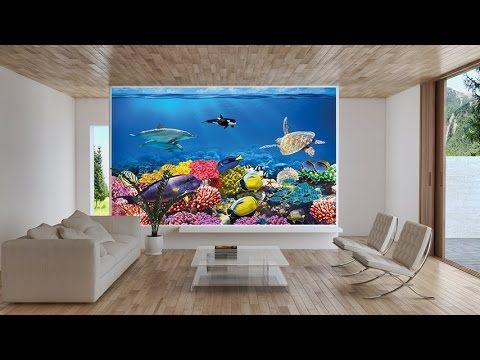 1000 ideas about aquarium mural on pinterest murale for Aquarium mural gifi