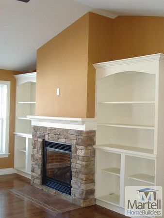 Built In Shelves Built Ins And Fireplaces On Pinterest