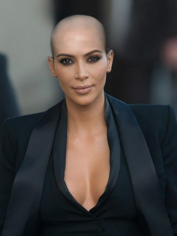 Kim K Copied Kanye (And Amber Rose) And Shaved Her Head | InStyle UK