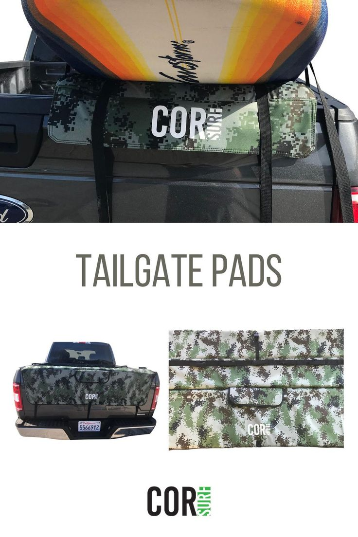 Tailgate Pads in 2020 Surf accessories, Paddle boarding