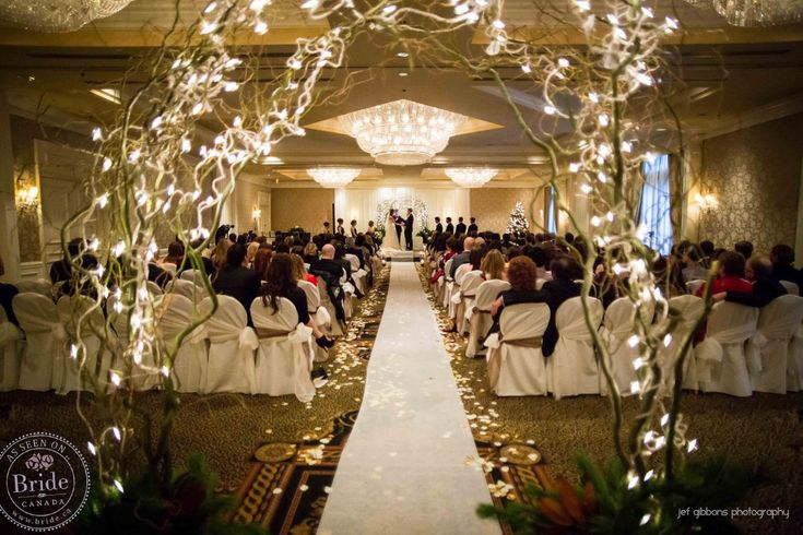 total candlelight weddings | ... & Brendan at Sutton Place: A Real Winter Wedding, Vancouver Style
