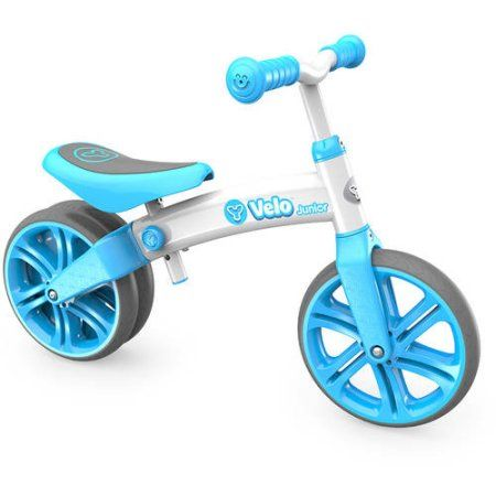 Yvolution Y Velo Junior Balance Bike, Blue 4L