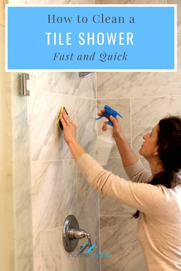 How To Clean And Maintain A Tile Shower In 2020 Cleaning Shower Tiles Shower Tile Shower Cleaning Hacks