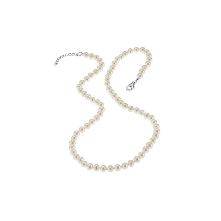 Colier scurt ZEEme perle de cultură albe