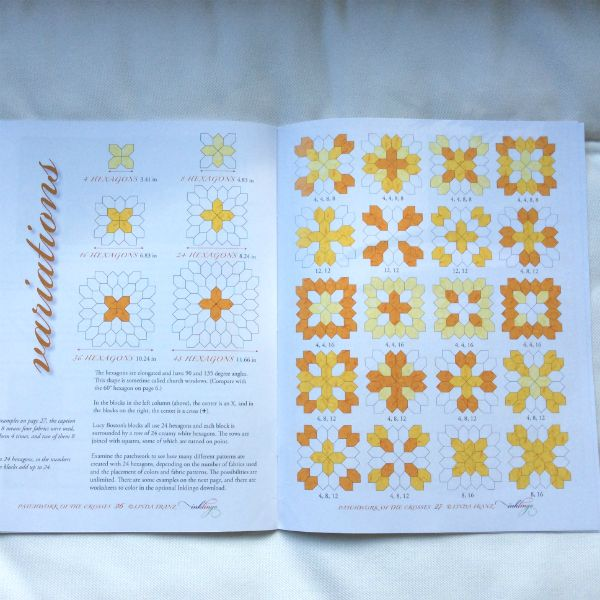 'Lucy Boston Patchwork of the crosses' by Linda Franz « Lina Patchwork