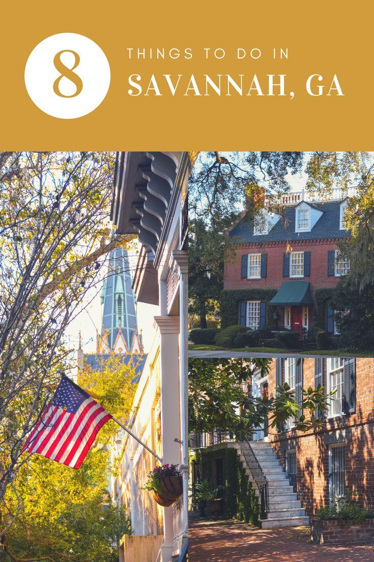 8 things to do in the beautiful city of Savannah in Georgia, America. This USA city is stunning with green shaded streets and gorgeous old houses.