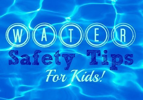Water Safety Tips for Kids: A list of 10 safety topics to help you start a conversation with your kids about how to stay safe in and around water.